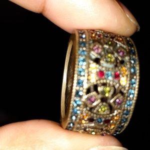Heidi Daus Wide Band Ring